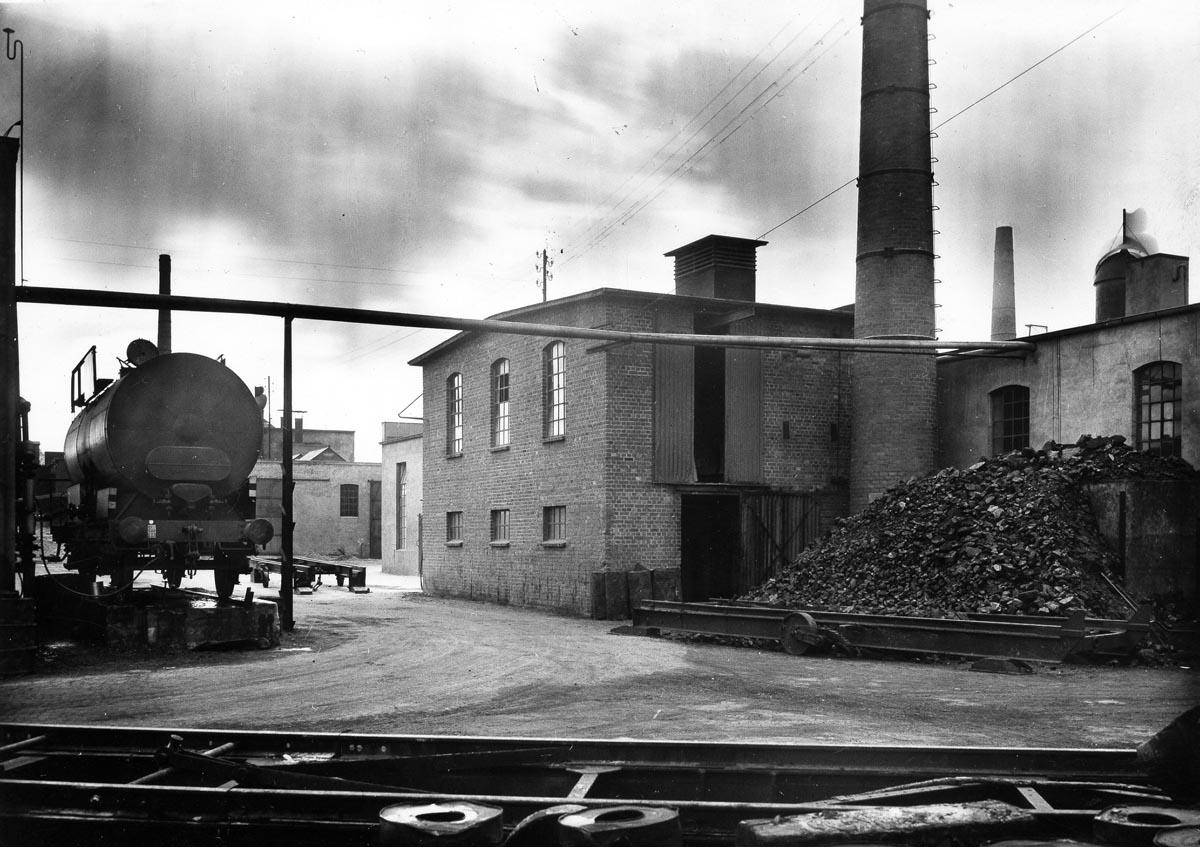 Binné & Sohn Werksgelände in den 50ern