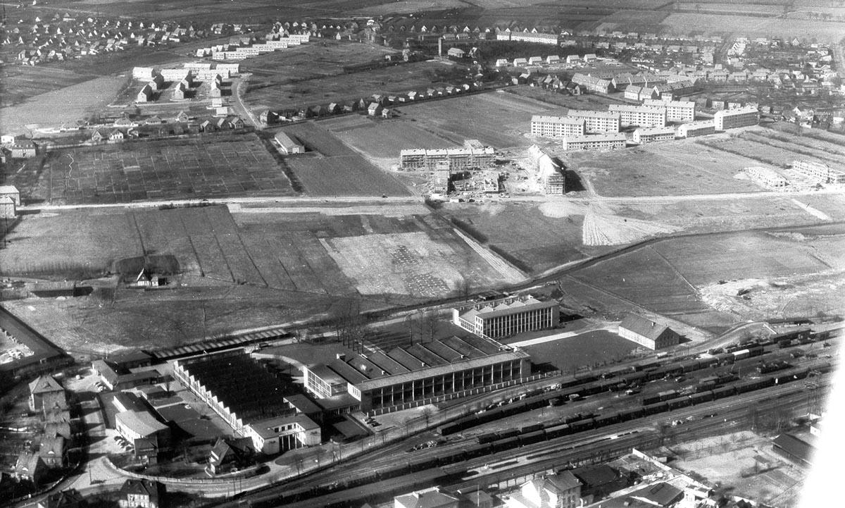 Luftbild JLO 50er Jahre