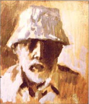 Grothkop Selbstportrait