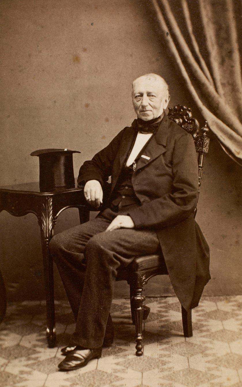 Landdrost Ludwig Nicolaus von Scheele (1796-1874)